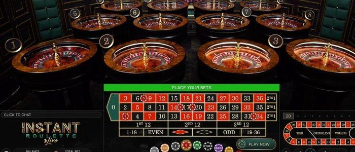 Evolution merilis game roulette langsung multi-roda instan