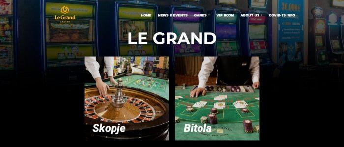 GIG menandatangani kontrak dengan LeGrand Casino di Makedonia Utara