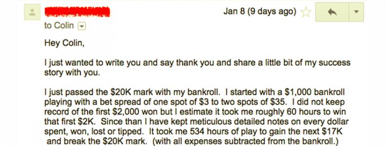 """Kisah Sukses BJA: """"68lincoln"""" Tumbuhkan Bankroll dari $ 1k menjadi $ 20k"""
