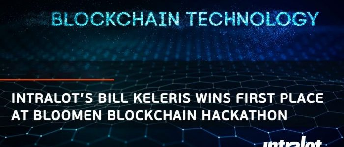 Bill Keleris dari Intralot memenangkan tempat pertama di Bloomen Blockchain Hackathon