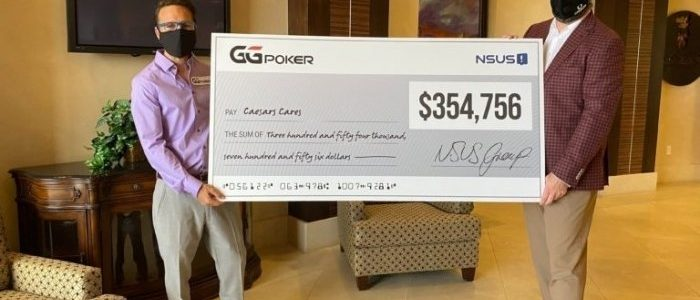 Komunitas GGPoker menyumbangkan USD 354.000 untuk amal Caesars Care