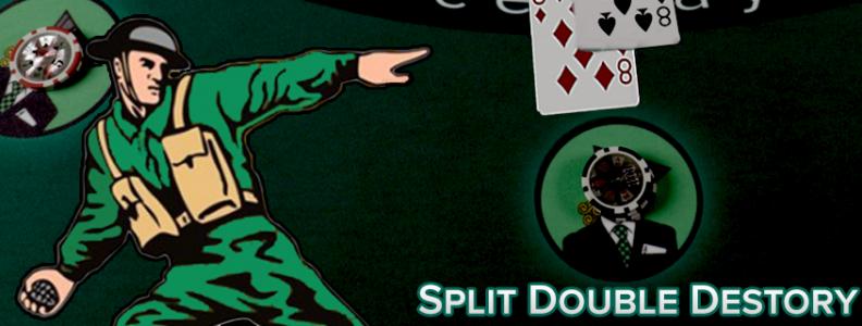 Split Double Destroy - The Play Cover Sempurna